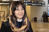 Ларина Евмурзаева - первая в Чечне женщина-пилот.