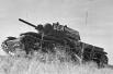 Танковый полк при Военной Академии механизации и моторизации им. Сталина. Колонна танков на марше. Москва, июнь 1941 года.