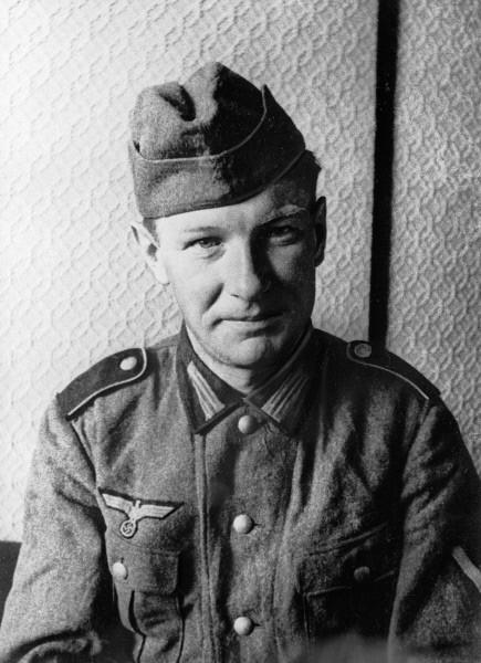 Первый пленный немецкий солдат Альфред Лискоф 1941