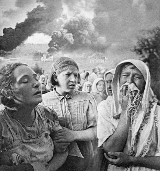 23 июня 1941 года в Киеве. Район Грушки.