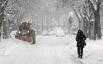 Болонья, Италия, 1 февраля 2012. Тысячи пассажиров застряли в Италии из-за снежных завалов и аномального холода. В последний раз такая погода здесь наблюдалась 27 лет назад
