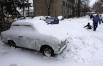 Венгрия, Будапешт, 26 декабря 2012. В конце января здесь проходили спасательные операции по поиску сотен путешественников, потерявшихся из-за снежных бурь и метелей. Задерживаются поезда, закрываются автомагистрали, отменяются рейсы