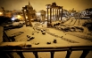 Число жертв аномальных холодов и снегопадов в Италии до 18 человек. Рим, 4 февраля 2012.