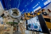 """Полноразмерный макет станции """"Мир"""" в Космоцентре в Центре подготовки космонавтов имени Ю.А. Гагарина."""
