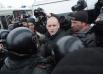 Организатор пикета Сергей Удальцов в очередной раз был арестован; суд назначен на ближайшую пятницу.