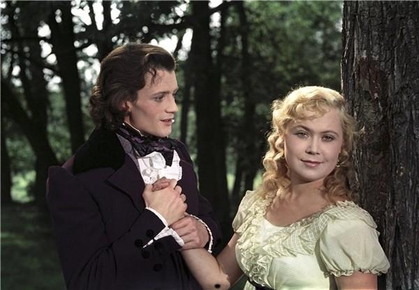 Первой серьезной работой Немоляевой в кино стала роль в фильме-опере «Евгений Онегин».