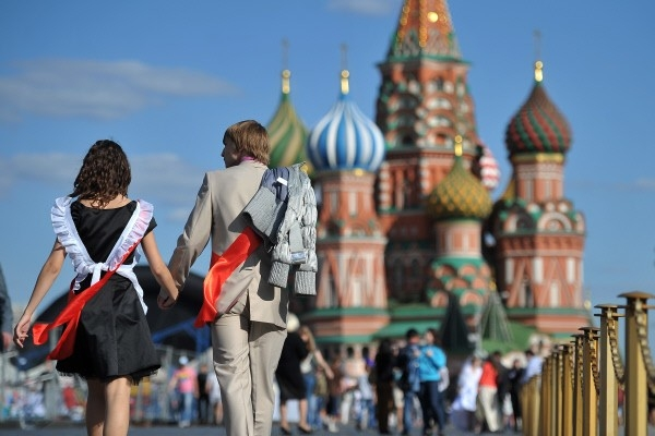 Последний звонок в Москве