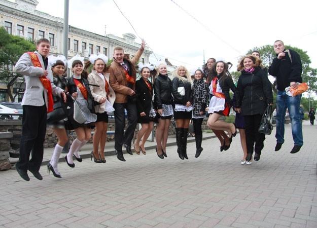 Последний звонок в Омске