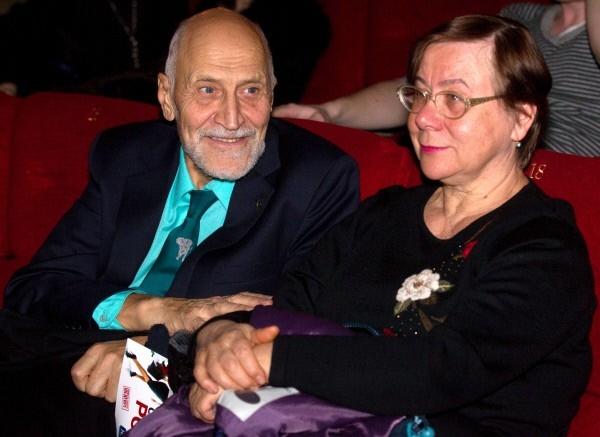Николай Дроздов с супругой Татьяной. 2011 год