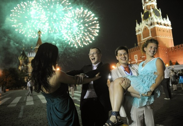 Гуляния выпускников в Москве