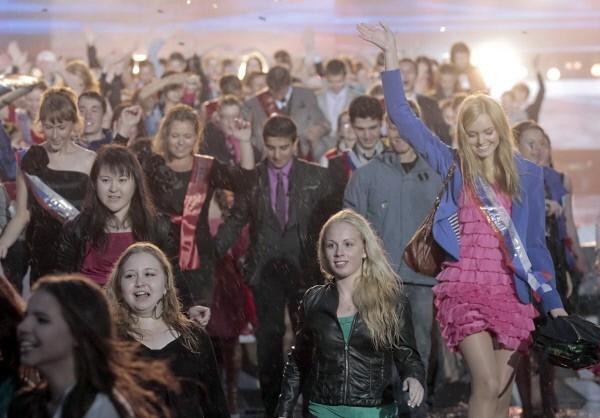 Гуляния выпускников в Санкт-Петербурге