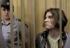 Участница группы Pussy Riot Надежда Толоконникова на заседании Таганского суда Москвы.