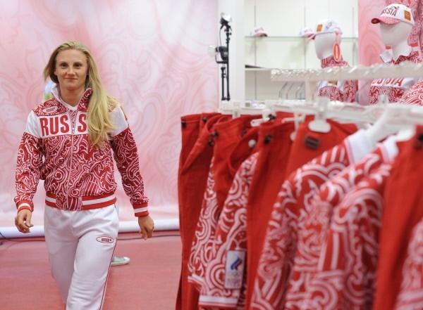 Член сборной России по легкой атлетике Юлия Кондакова