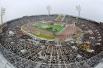 Церемония открытия XXII Олимпийских игр в Москве. На Центральном стадионе им. В.И.Ленина в Лужниках. 1980 год
