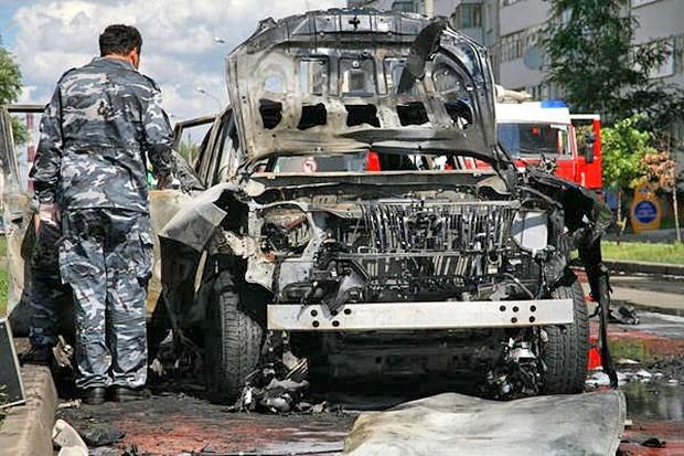 По словам одного из очевидцев происшествия, взрыв был такой силы, что  его квартире едва не вылетели стекла.