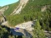 Вытекшее озеро не нанесло ущерба населенным пунктам, поскольку находится высоко в горах на высоте в несколько тысяч метров.
