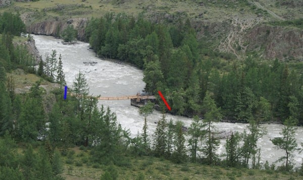 Озеро имело длину 1,5 километра, ширину – до 400 метров.