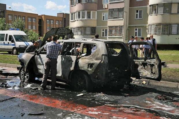 По словам представителя Следственного комитета, муфтий смог сам дойти до машины  «скорой помощи» после взрыва.