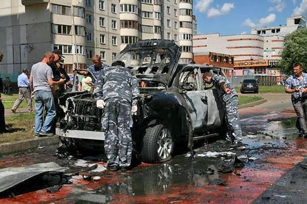 Илдус Файзов был госпитализирован с травмами различной степени тяжести.Позднее стало известно, что у муфтия сломана лодыжка.