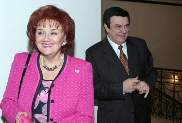 Тамара Синявская и Муслим Магомаев. 2005 г.