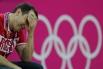 Главный тренер сборной России по баскетболу Дэвид Блатт на матче предварительного группового раунда мужского баскетбольного турнира между сборными командами Австралии и России на XXX Олимпийских играх в Лондоне.