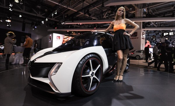 Автомобиль Opel RAK e