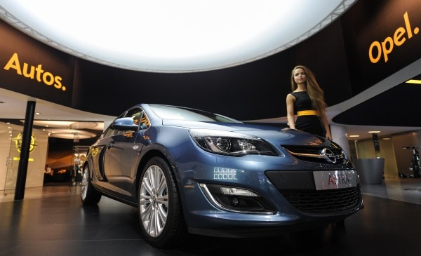 Автомобиль Opel Astra sedan