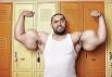 Самые большие в мире бицепсы принадлежат Мустафе Исмаилу из Египта, и их размеры впечатляют: левая рука – 64.77 см в согнутом состоянии и 62.23 см в не согнутом; правая рука 63.5 см в согнутом состоянии и 60.96 см в не согнутом