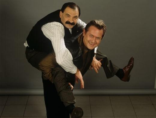 В 1993 году Олейников и Стоянов создали программу «Городок». В ней Олейников участвовал вплоть до смерти