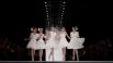 Модели демонстрируют одежду из коллекции весна-лето 2013 модельера Славы Зайцева