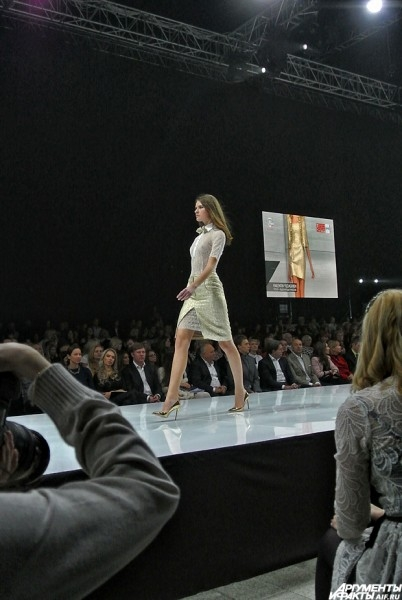 Показ модельера Валентина Юдашкина