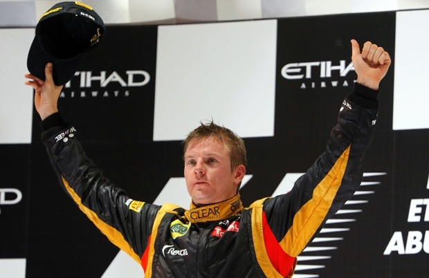 Перед стартом сезона многие сомневались в возможностях Кими Райкконена, но финн с самого начала выдавал высокие результаты, а в Абу-Даби принес Lotus первую победу