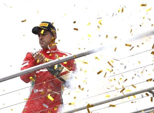 После победы в Германии Фернандо Алонсо казался главным претендентом на чемпионский титул, но скорости машины не хватило, чтобы удержать лидерство