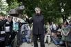«#ОккупайАбай».  02.06.2012 г.   С 9 мая активисты находятся в лагере на Чистопрудном бульваре. Оппозиционеры собираются у памятника казахскому поэту Абаю Кунанбаеву на Чистопрудном бульваре, поэтому акция получила название и хэштег «#ОккупайАбай», исп
