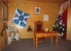 Кабинет в резиденции Деда Мороза.