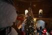 Новогодняя Елка в резиденции Деда Мороза в Великом Устюге.