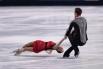 Ксения Столбова и Федор Климов показали шестой результат.