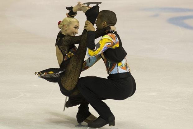 Немецкая пара Алена Савченко и Робин Шолковы заняла второе место.