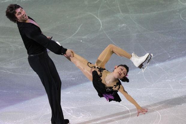 Александр Смирнов и Юко Кавагути
