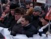 В числе участников марша - Леонид Парфенов, Владимир Рыжков, Сергей Удальцов, Борис Немцов, Илья Яшин, Михаил Касьянов.