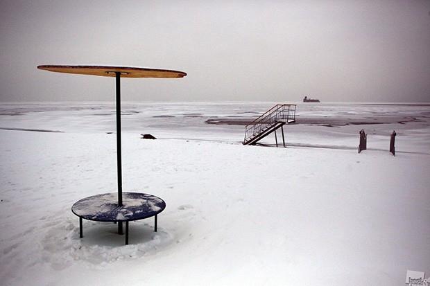 Городской пляж<br>Номинация: Архитектура
