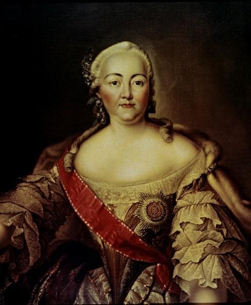 Елизавета I Петровна. Дочь Петра I, последняя наследница престола из династии Романовых по прямой женской линии. Годы жизни: 1709 - 1761 (52 года). Годы правления: 1741 - 1761.