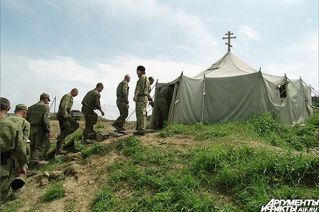 2004 г. Русские капелланы на войне