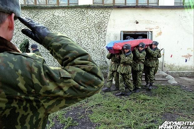 2000 г. Трагедия псковских десантников - в одном бою погибли 85 солдат