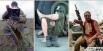 1996 г. Контрактники российской армии в Чечне