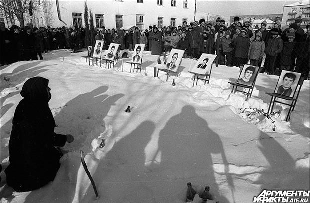1991 г. Блокада Южной Осетии войсками МВД Грузии
