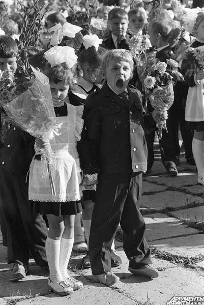 1985 г. Школьный кавалер