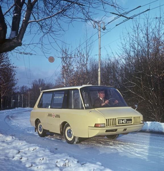 Экспериментальное такси. 1965 г.