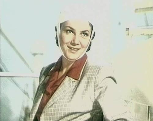 Кадр изфильма «Богатырь» идет вМарто» (1954)