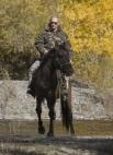Президент во время экспедиции в «Убсунурскую котловину», где он осмотрел места обитания снежного барса